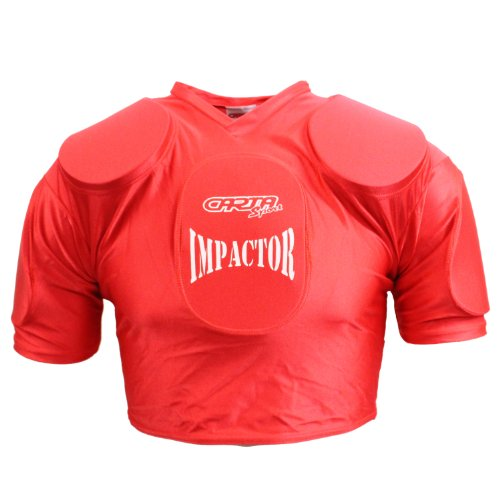IMPACTOR Rugby League Union Shoulder Pad Body Protection - RRP £30 (XL = 46