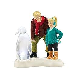 Original Snow Village Ice Sculptor In T Making