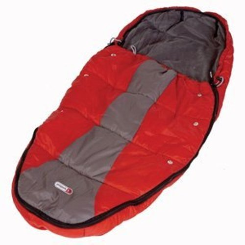 Phil and Ted's Baby Sleeping Bag in Red