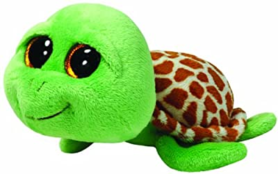 Ty Beanie Boos Zippy Green Turtle Plush by Ty Beanie Boos
