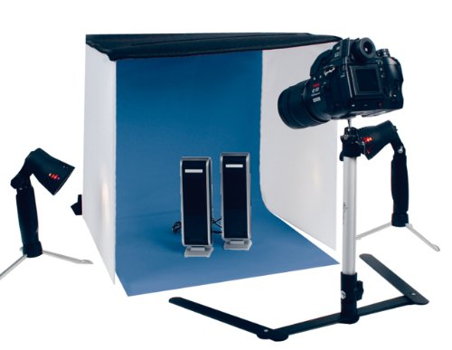Portable Photo Studio Kit including Tent + Lights + Tripod