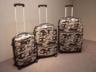 Trolley Set 3tlg. ABS Hartschale Koffer Grau