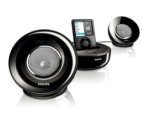 Philips SBD6000/05 - Portable Speaker System - White