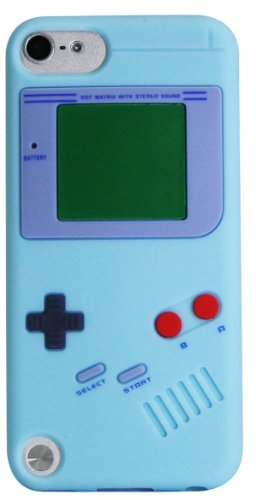 Evil Empire© Ipod Touch 5 5Th Generation Nintendo Gameboy Silicone Case (Baby Blue) front-1034433