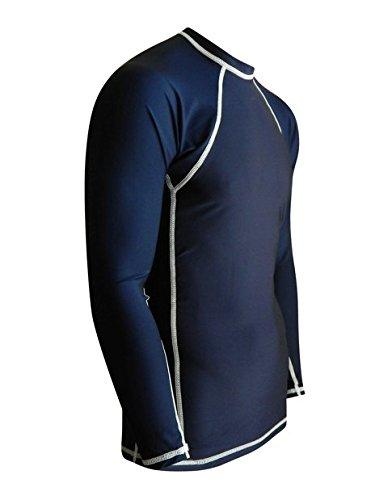 Rash guard for men usa made compression workout uv for Custom sun protection shirts