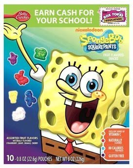 Cheap Nickelodeon Sponge Bob Square Pants Assorted Fruit