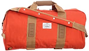 Poler Duffaluffagus Duffel Bag Burnt Orange, One Size