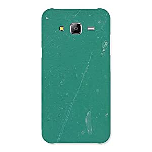 Green Paint Crack Print Back Case Cover for Samsung Galaxy J5