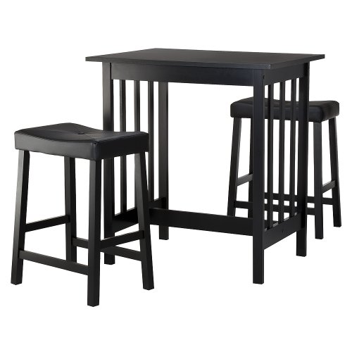 Black Bistro Set - 3 pc