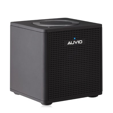 Auvio 1.5 Watt Portable Bluetooth Speaker-Black