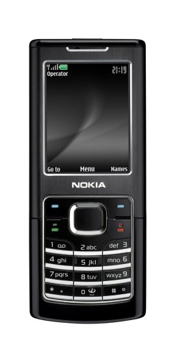 Nokia 6500 Classic 1 Gb Unlocked Cell Phone With 2 Mp Camera, International 3G, Media Player--International Version With No Warranty (Black)