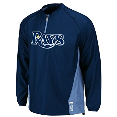 MLB Tampa Bay Rays Gamer Jacket, Navy, Youth
