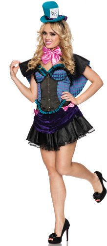 Delicious Women's Mad Hatter Adult Costume