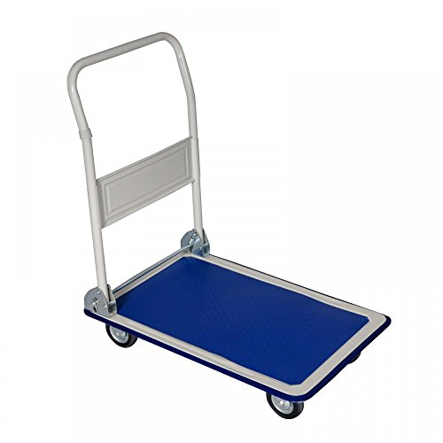 New 660lbs Platform Cart Dolly Folding Foldable Moving Warehouse Push Hand Truck (Hand Push Cart compare prices)