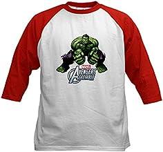 CafePress Hulk Fists Kids Baseball Jersey
