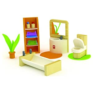 Hape Bamboo Collection Trendy Bathroom Set