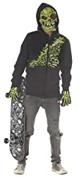 Bone Chiller Halloween Costume - Child Size Large 10-12