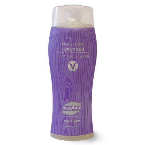 Soapbox Soaps All Natural Body & Soul Wash Lavender -- 14 Fl Oz