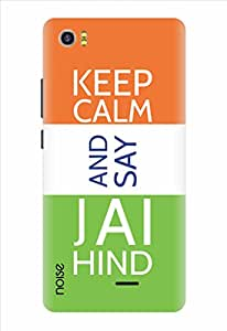 Noise Keep Calm And Say Jai Hind Printed Cover for Lava Pixel V2