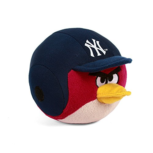 MLB New York Yankees Angry Bird Plush Toy, Small, Red - 1