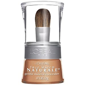 L'Oreal Paris True Match Naturale Gentle Mineral Concealer, Medium/Deep 484, 0.07 Ounce