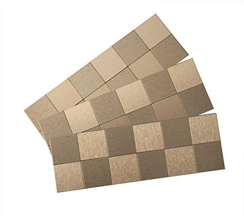 Compare Aspect Peel And Stick Backsplash 12inx4in Square