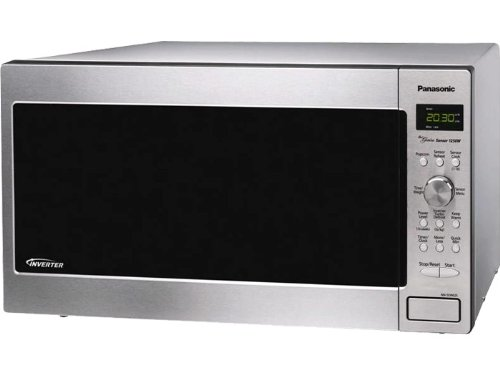 Panasonic NN-SD762S Genius 1.6 cuft 1250-Watt Sensor Microwave with Inverter Technology, Stainless Steel