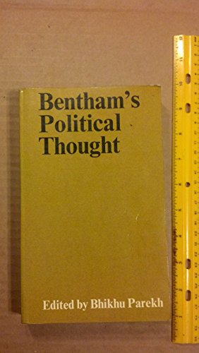 Bentham's Political Thought PDF