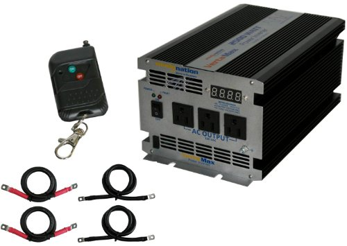 Vertamax 2500 Watt 12V Power Inverter Dc To Ac Car, Rv, Solar, Off-Grid, Rv