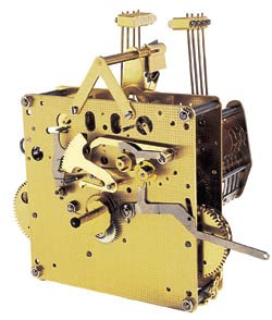 Hermle Clock Movement 451-033 or 451033H