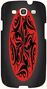 Incredible multicolor printed protective REBEL mobile back cover for S3 - Samsung I9300 Galaxy S III D.No.N-T-1456-S3