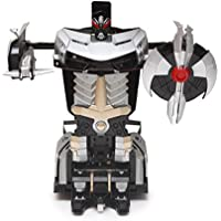 The Flyers Bay One Button Transforming Car Into Robot With Cool Dance Features - Lamborghini, Gray