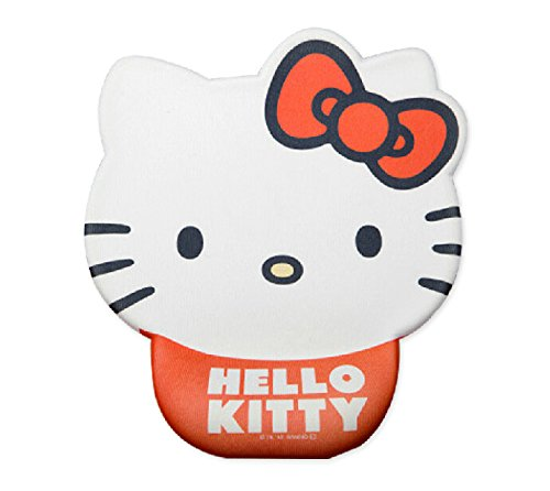 Cute Hello Kitty Cartoon Wrist Mouse Pad Cows Design Mouse Pad (A)