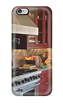buy Pretty Gymxebc1494Atira Iphone 6 Plus Case Cover/ Kitchen With Stainless Steel Tile Backsplash Warm Red Cabinets And Stainless Appliances Series High Quality Case