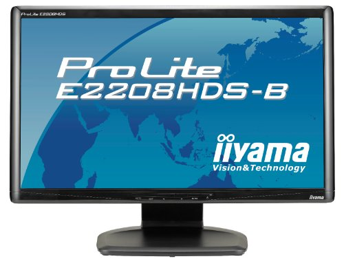 Ilyama PLE2208HDS-B22-inch Widescreen LCD Monitor (1080P, DVI, MM) - Black