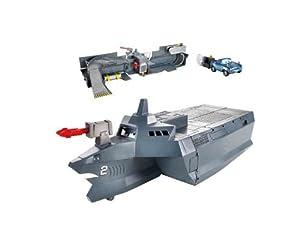 Mattel - Cars 2 - W8164 - Playset - Porte-avion