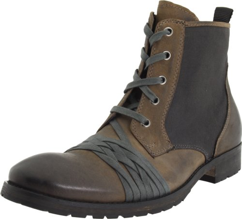 Donald J Pliner Men's Baxter Lace-Up Boot,Lead,11 M US