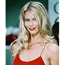 CLAUDIA SCHIFFER 16X20 COLOR PHOTO