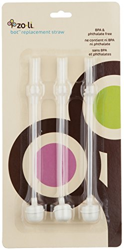 ZoLi BOT 3 Piece Straw Replacement Kit