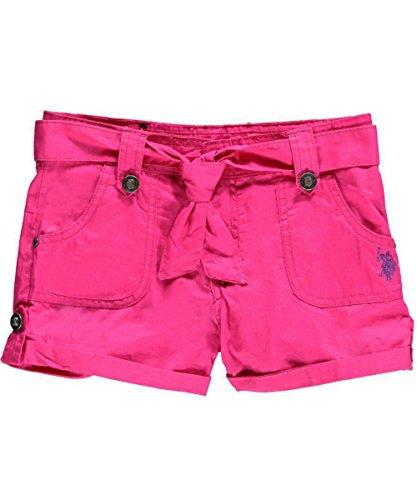 "U.S. Polo Assn. Big Girls' ""Brianna"" Short Shorts - Pink, 16"