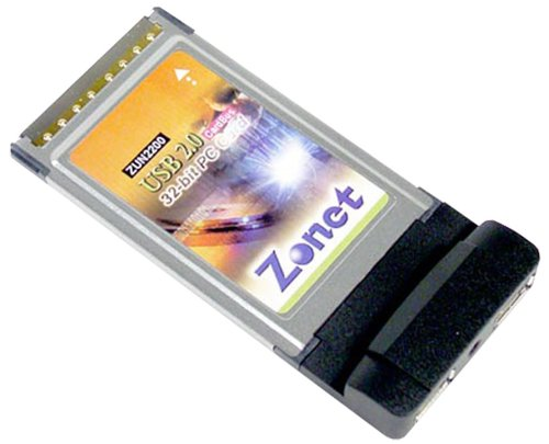 2 Port USB 2 0 PCMCIA Cardbusdualpower with CableB0000DCSU7 : image