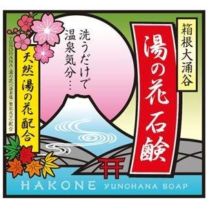 (まとめ買い)箱根大涌谷 湯の花石鹸 90g×3セット