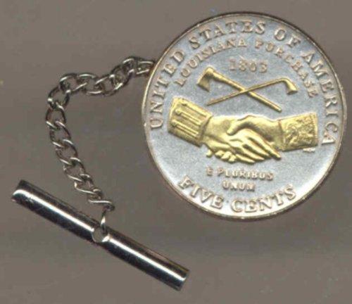 New Jefferson nickel Peace Medal tie
