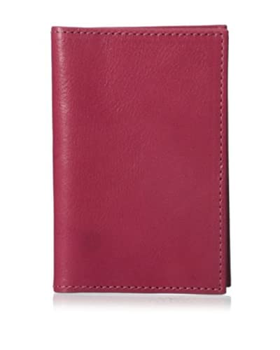 GRAPHIC IMAGE Women's Leather Card Case, Pink