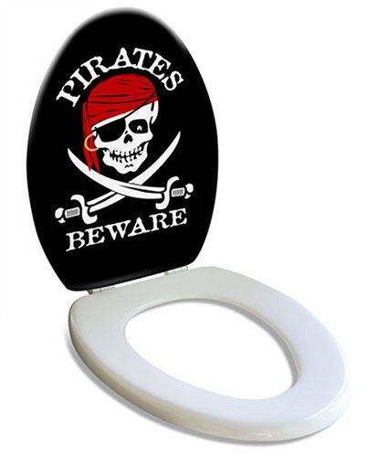 The Dread Pirate Toilet Seat
