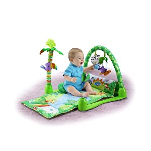 Fisher Price 1- 2 -3 Musical Gym