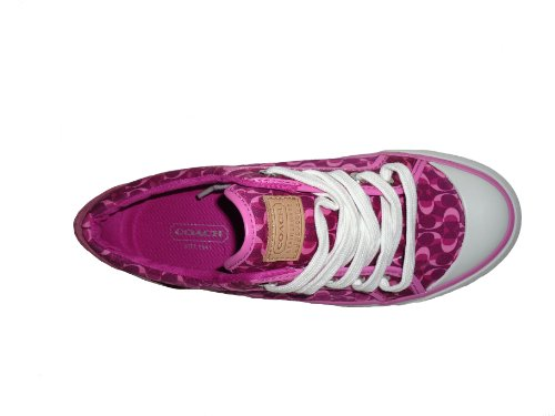 Coach   Coach Barrett II Signatue C Print Berry Shoes Size 6