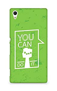 Amez You can Do It! Back Cover For Sony Xperia Z4