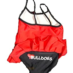 Georgia Bulldogs Child Girls Swimsuit (2T)