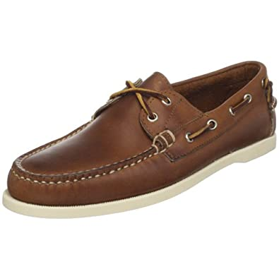 Ralph Lauren Men's Telford Boat Shoe,Tan,7 D